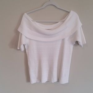 White Lane Bryant Off Shoulder top 18/20  NWT
